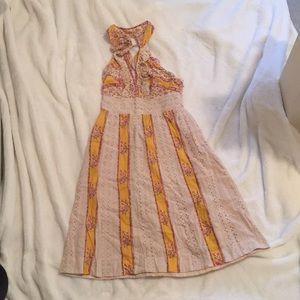 Free People halter style dress
